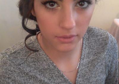 maquillage professionnelle d'une mariée sur jérusalem