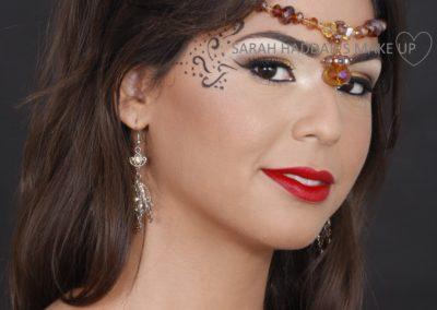 maquillage cérémonie Jérusalem