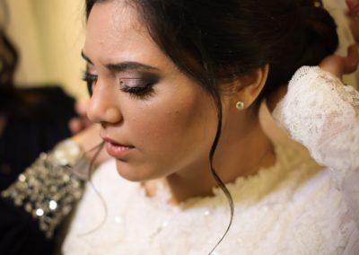 préparation maquillage cérémonie mariage Jérusalem